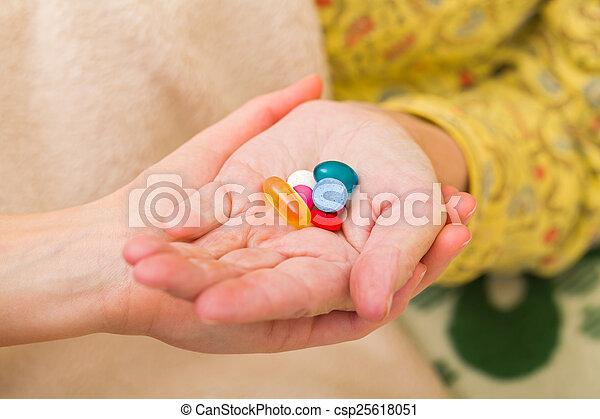 Elderly home care - csp25618051