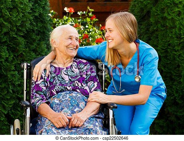Elderly Home Care - csp22502646