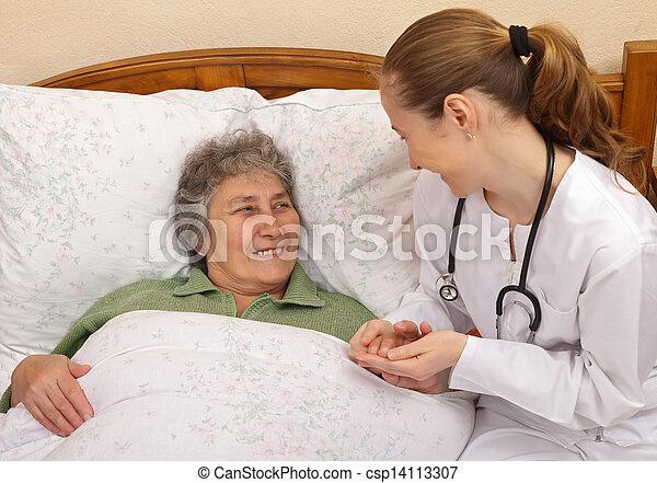Elderly home care - csp14113307