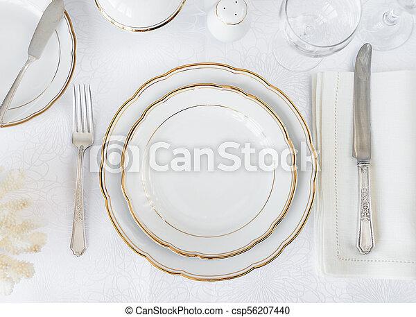 Elegance table setting - csp56207440