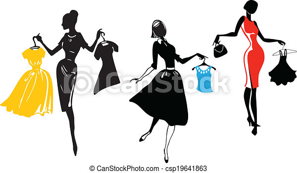 Fashion Shopping - csp19641863