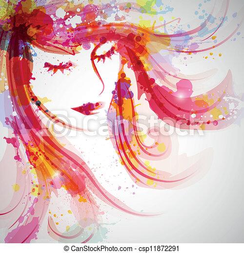 Fashion Woman - csp11872291