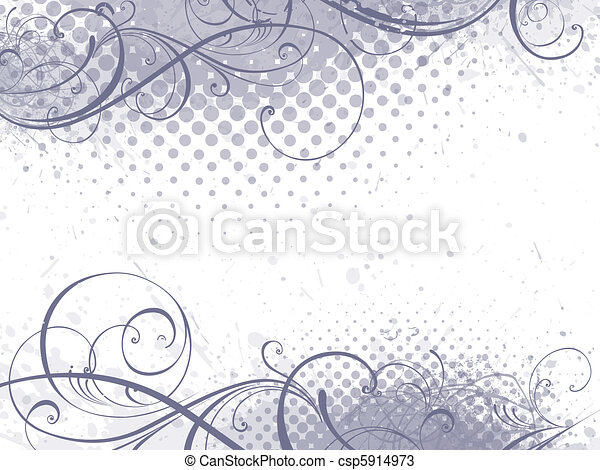 floral background - csp5914973