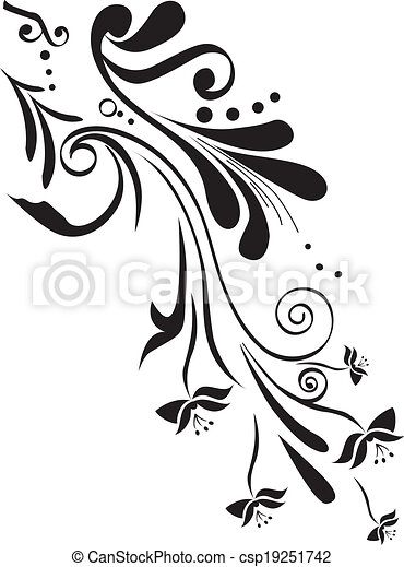 Floral design - csp19251742