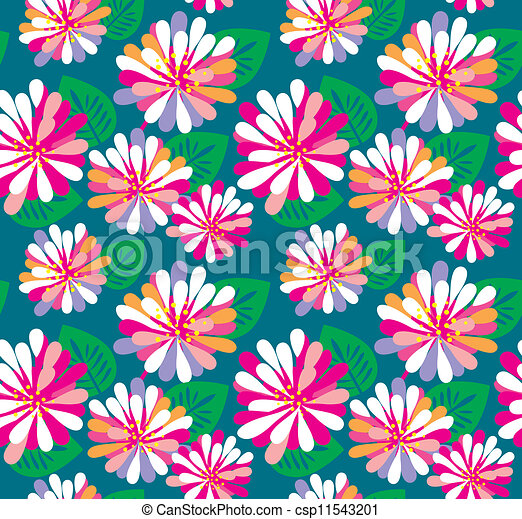 Floral pattern - csp11543201