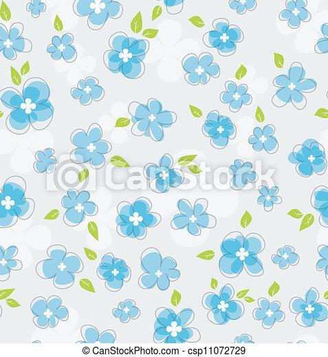 Floral seamless pattern - csp11072729