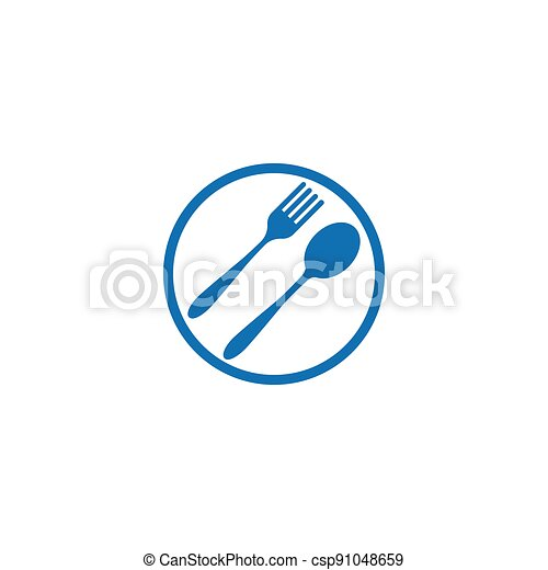 fork and spoon - csp91048659