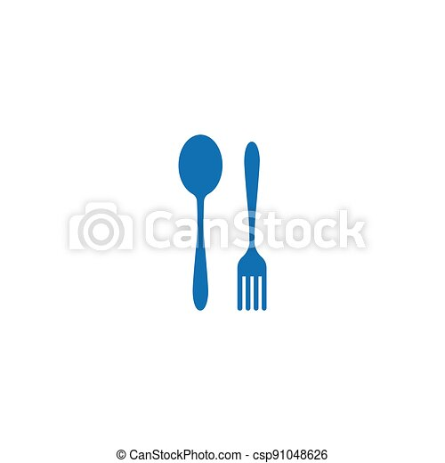 fork and spoon - csp91048626