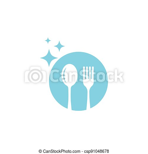 fork and spoon - csp91048678