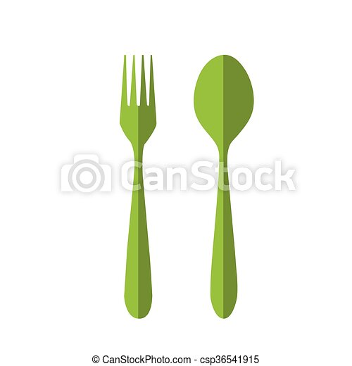 fork and spoon - csp36541915