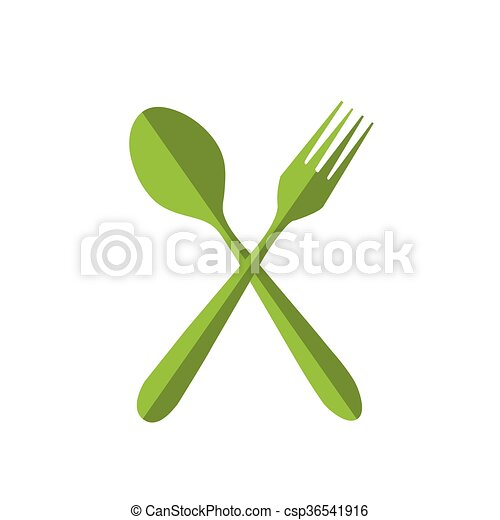 fork and spoon - csp36541916