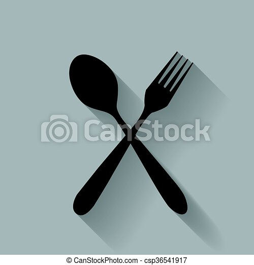 fork and spoon - csp36541917
