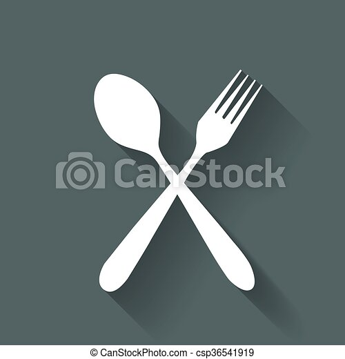 fork and spoon - csp36541919