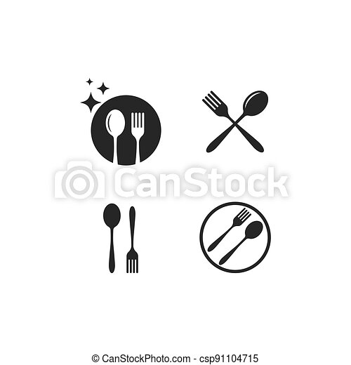 fork and spoon - csp91104715