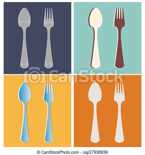 fork, spoon - csp37938939