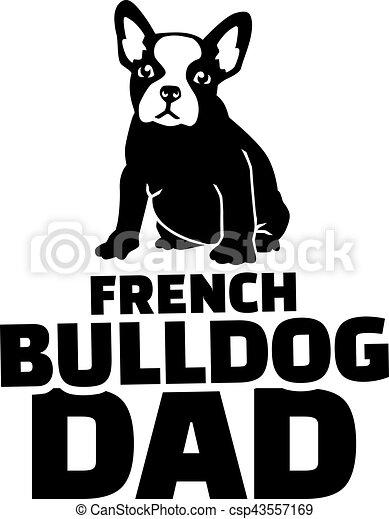 French bulldog dad - csp43557169