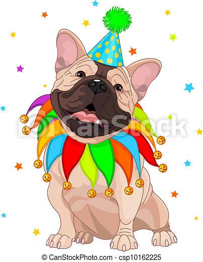 French bulldog%u2019s Birthday - csp10162225