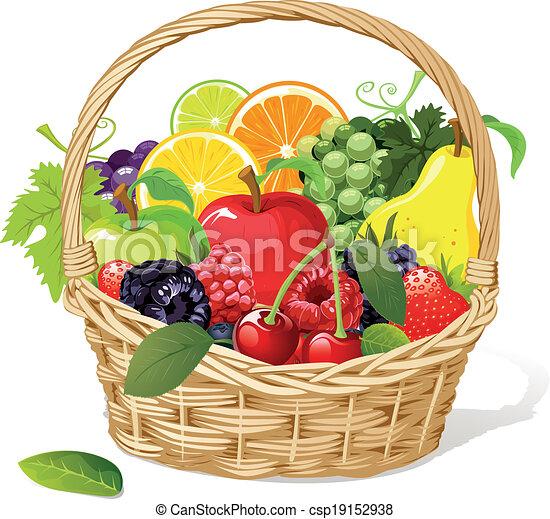 fruit basket - csp19152938