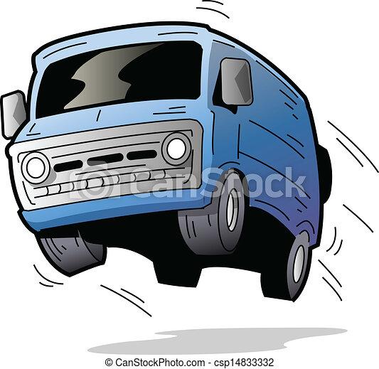 Fun Van - csp14833332