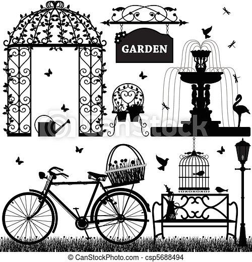 Garden Park Recreational - csp5688494