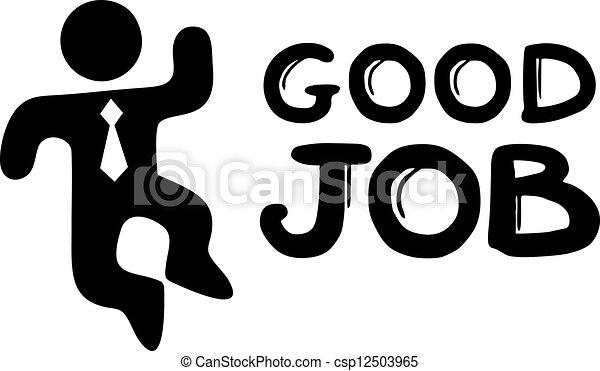 Good job - csp12503965