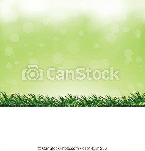 green background - csp14531256