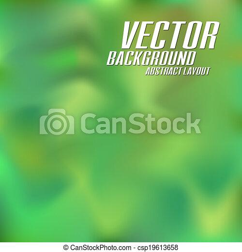 Green Background - csp19613658