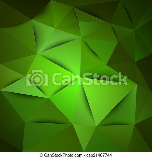 Green Background - csp21467744