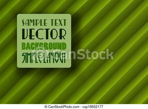 Green Background - csp18652177