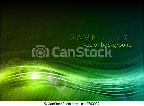 green dark background - csp9763937