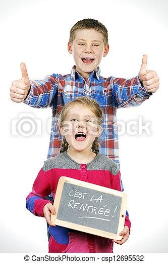 Happy children - csp12695532