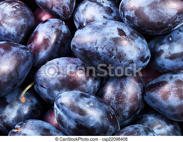 healthy plums - csp22098408
