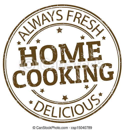 Home cooking stamp - csp15040789