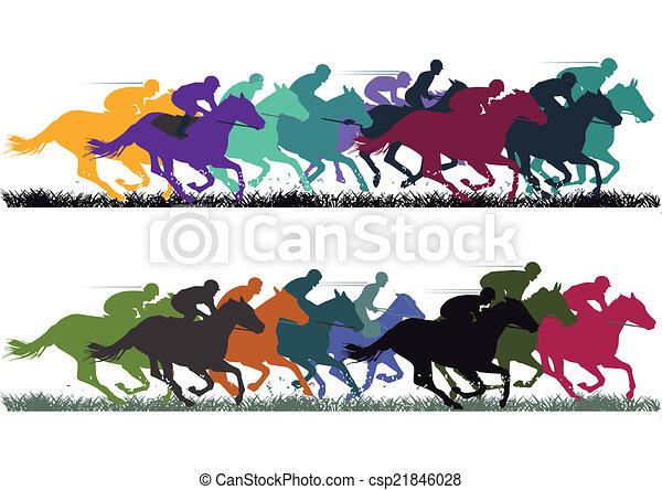 Horse Racing - csp21846028