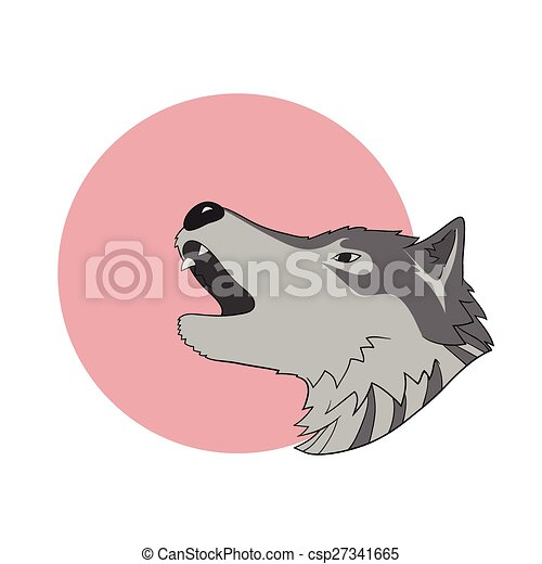 Howling wolf - csp27341665