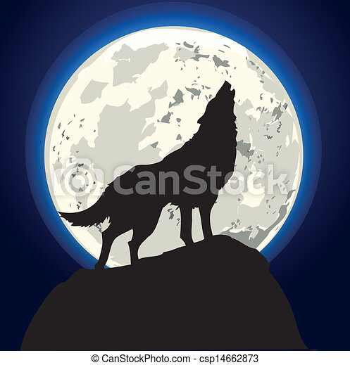 howling wolf - csp14662873
