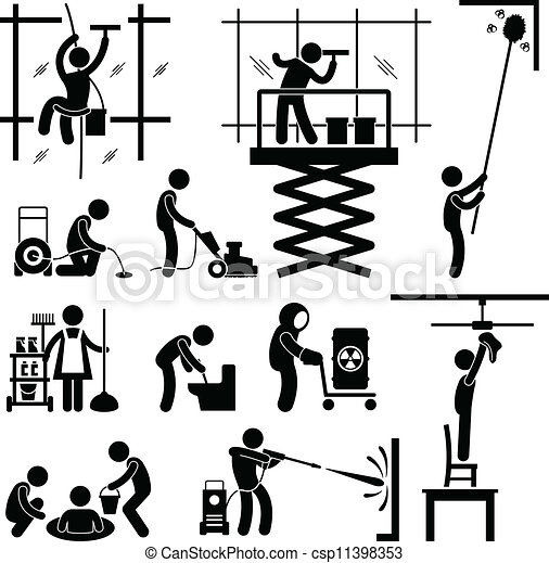 Industrial Cleaning Services Job - csp11398353