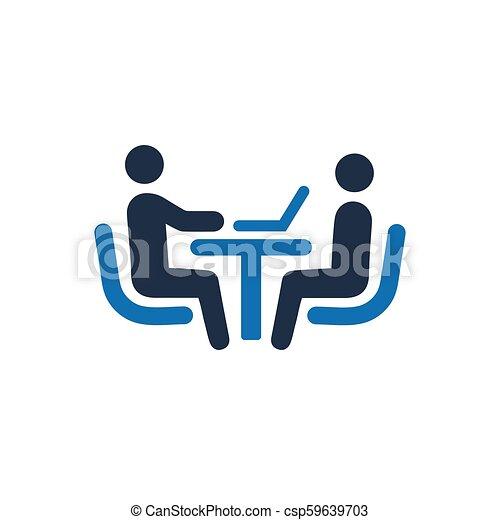 Job Interview Icon - csp59639703