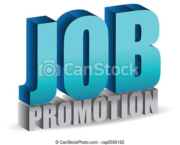 job promotion - csp5595162