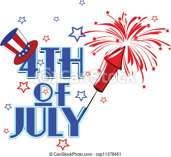 july4th concept - csp11378451