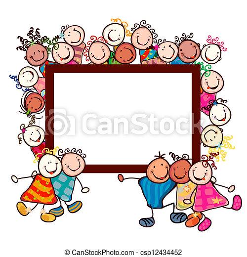 kids smiling - csp12434452