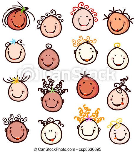 kids smiling - csp8636895