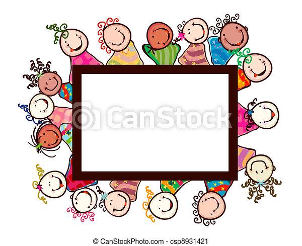 kids smiling - csp8931421