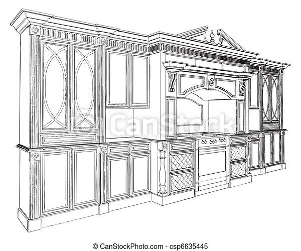 Kitchen - csp6635445
