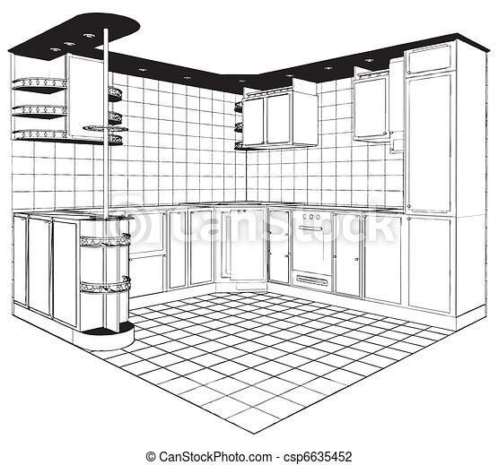 Kitchen - csp6635452