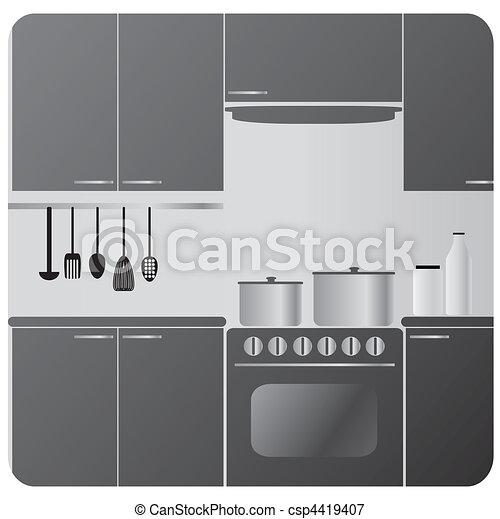 kitchen - csp4419407