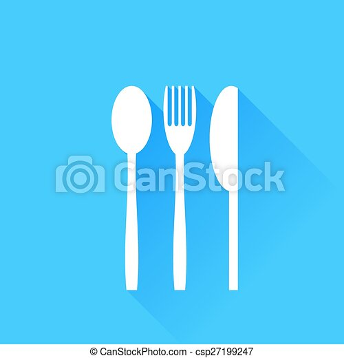 Knife Fork and Spoon - csp27199247