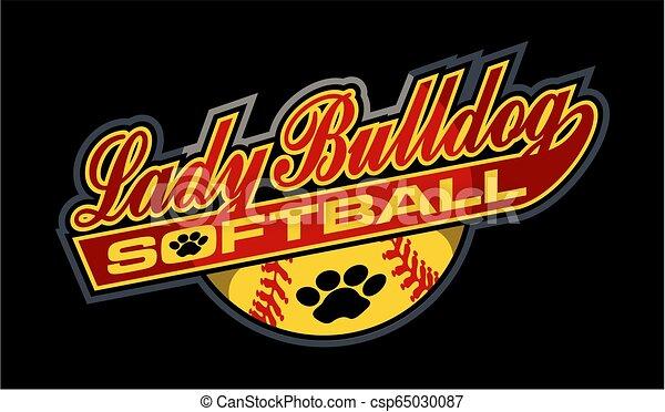 lady bulldog softball - csp65030087