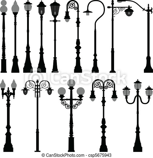Lamp Post Lamppost Street Light - csp5675943