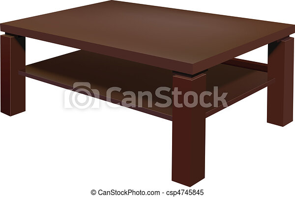 living room table - csp4745845